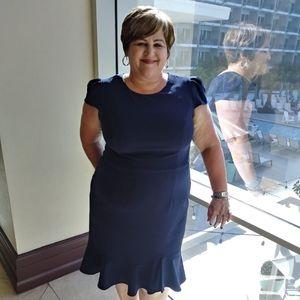 Navy Blue-Betsey Johnson's Dress
